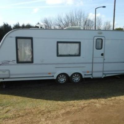 Used Compass Aztec 600 special edition Caravan with air con for sale in SPAIN offer  Vans & Caravans
